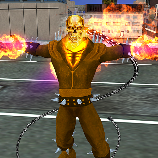 Ghost Fire Skull Hero