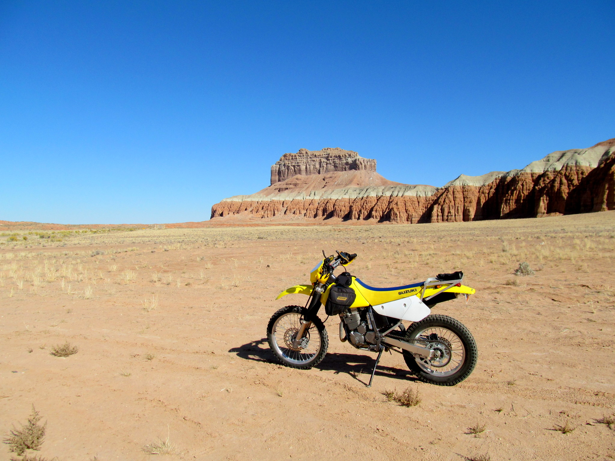 Photo: The DRZ near Wild Horse Butte