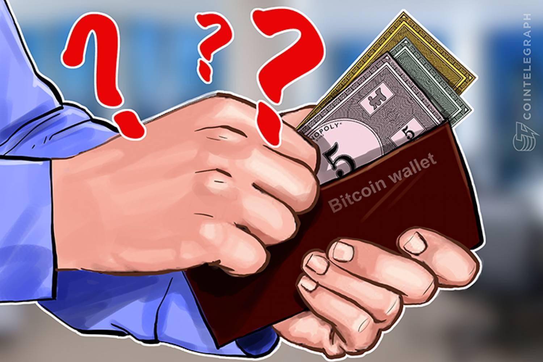 Sichere Bitcoin-Brieftasche