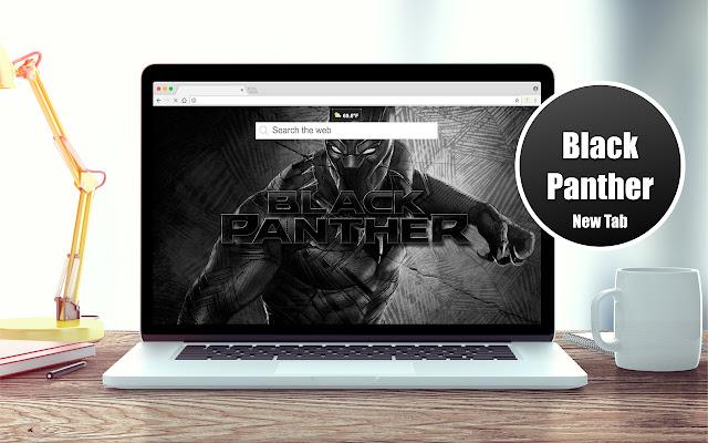 Black Panther HD New Tab Theme