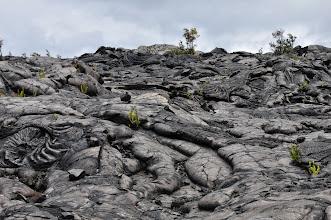 Photo: Lava flow.