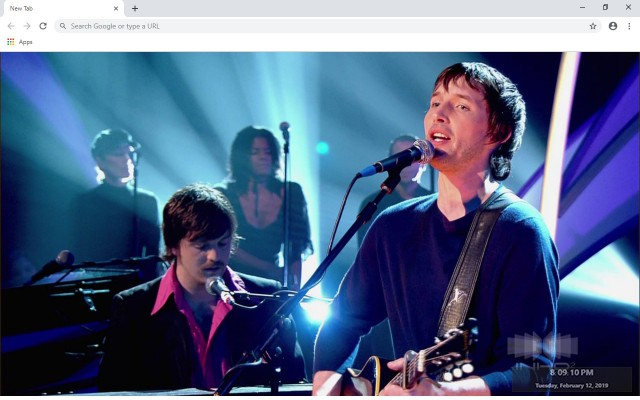 James Blunt New Tab & Wallpapers Collection