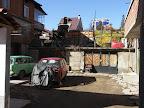 Kontrast doby v Blagoevgradu.