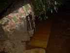 voda stoupala, ale nakonec žádné škody nenapáchala