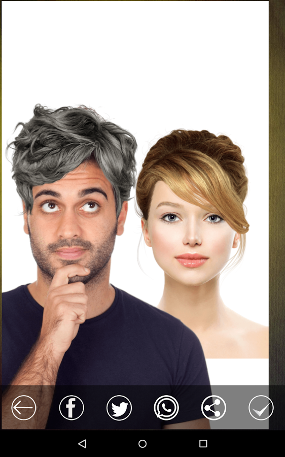 Sensational Hair Style Changer Android Apps On Google Play Short Hairstyles Gunalazisus