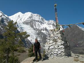 Photo: Point de vue 3800 m: Gangapurna
