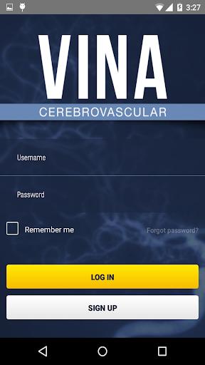VINA - Cerebrovascular App