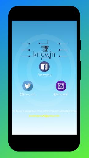 KnoWin Ödüllü Bilgi Yarışması screenshot 5