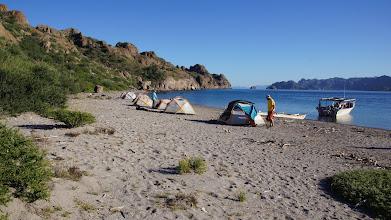Photo: Last camp on Isla Danzante