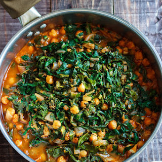 Spiced Vegetable and Chick Pea Stew