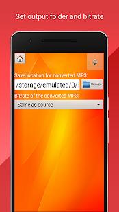 Převést MP4 do MP3 - náhled