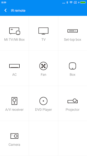 Mi Remote controller - for TV, STB, AC and more 5.7.2 screenshots 1