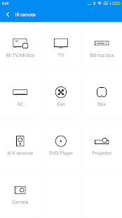 Mi Remote controller - for TV, STB, AC and more- screenshot thumbnail