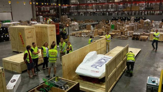Belgische Zonnewagen vertrokken naar Australië voor WK