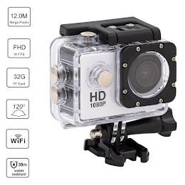 Camera video Wi-Fi waterproof HD 1080P