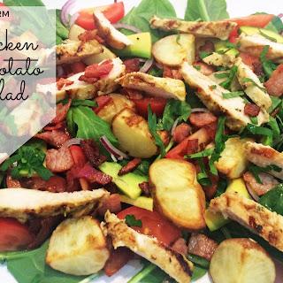 Warm Chicken & Potato Salad