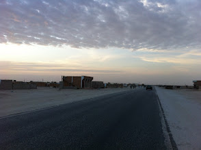 Photo: Leaving Nouakchott