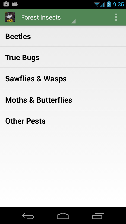 Forest Insect Pests- screenshot
