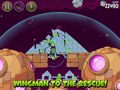 Angry Birds Space: miniatura de captura de pantalla