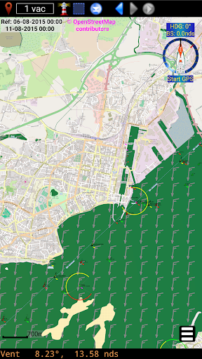 qtVlm Navigation and Weather Routing 5.9 screenshots 6
