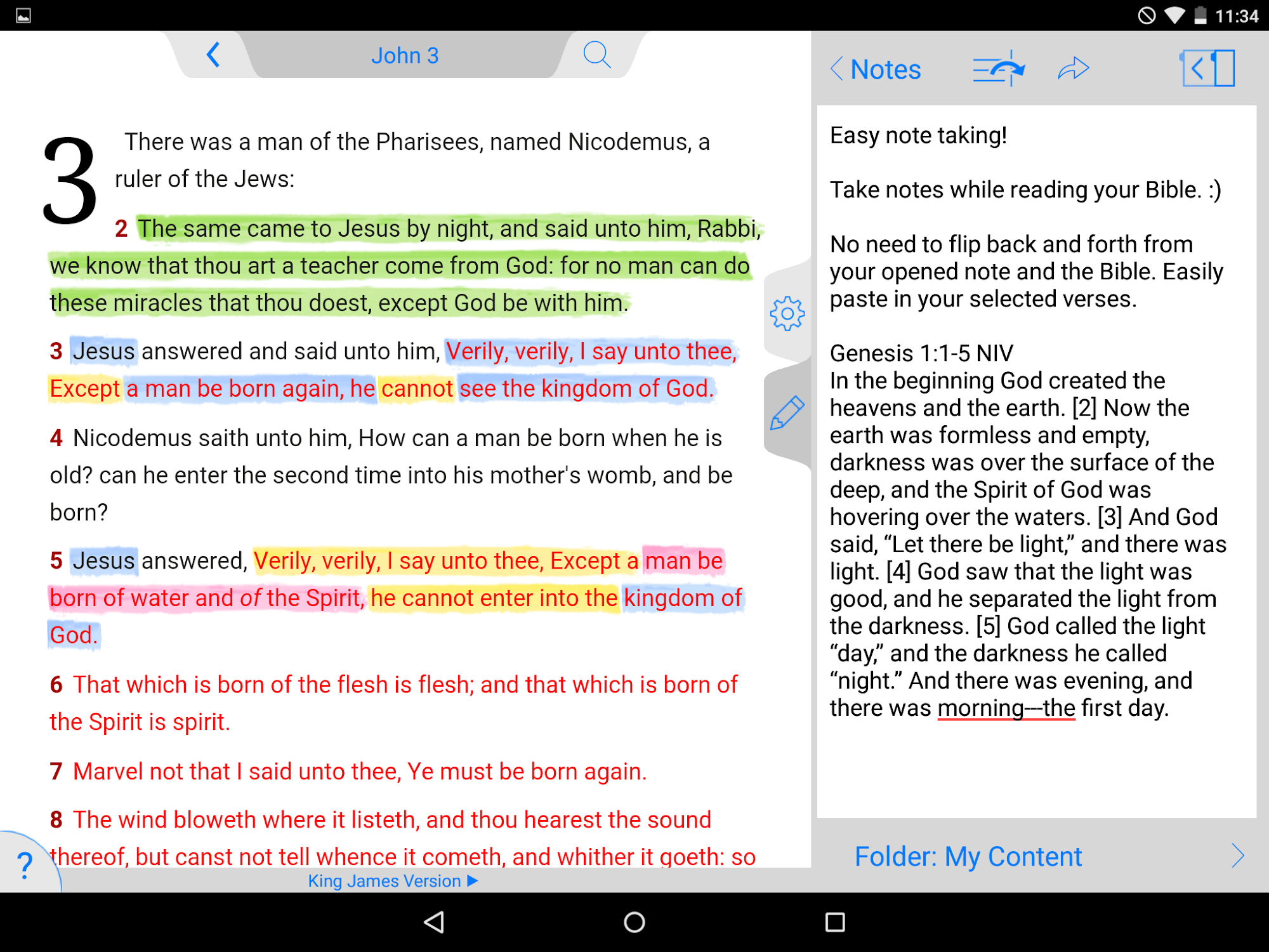 New American Standard Bible screenshot #12