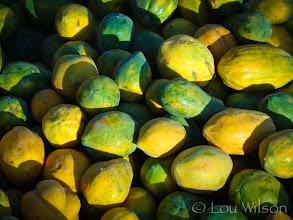 Photo: Papaya Tangalle Market Sri Lanka