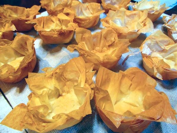 Phyllo Tart Shells Recipe