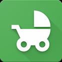 Baby tracker - feeding, sleep and diaper icon