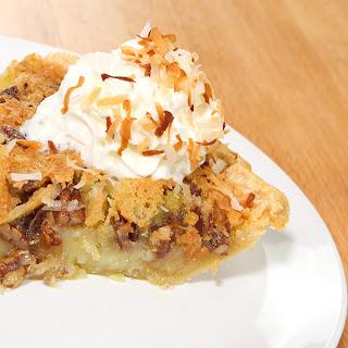 Island Pecan Pie.