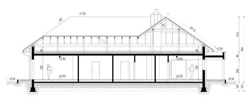 New House 17 - Przekrój