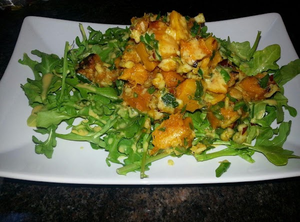Roasted Butternut Squash Salad W/ ... Recipe