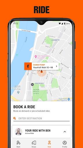 SIXT: Car rental, Carsharing & Taxi  screenshots 4