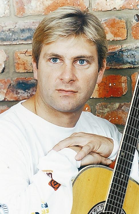 Afrikaans singer Jacques de Coning