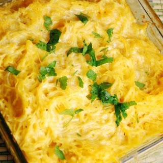 Spaghetti Squash and Cheese