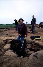 Photo: Magheramenagh, Portrush, 1999. Rock-cut Souterrain during excavation