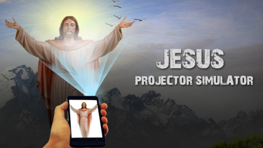 android Jesus Projector Simulator Pro Screenshot 2