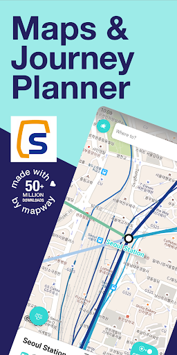 Seoul Metro Subway Map and Route Planner screenshot 1