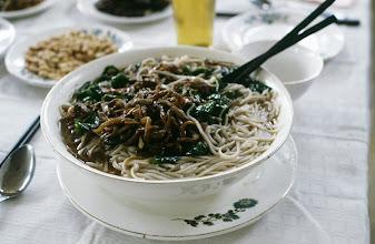 Photo: 11183 揚州~南京/列車/食堂車/料理