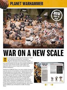 White Dwarf Magazine - náhled
