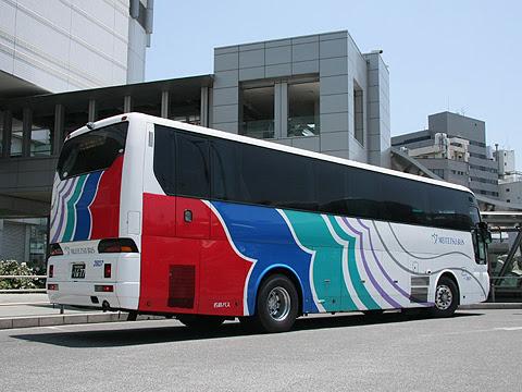 名鉄バス「名古屋~新潟線」 2607 リア