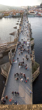 Photo: Charles Bridge From Above  And, yes, it really does have a bend in it!