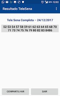 Resultado da Telesena - náhled