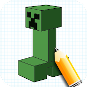 Learn How to Draw Minecraft