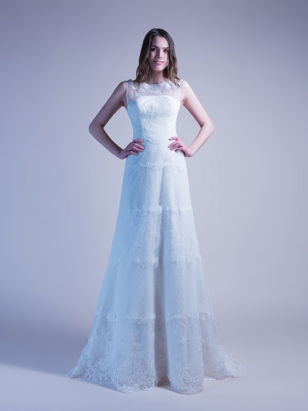 Robe de mariée chic bohème Betty