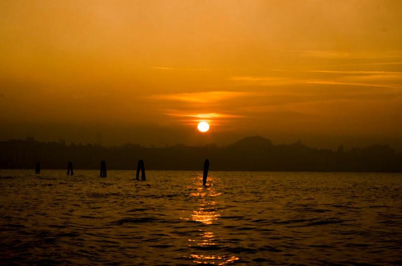 Venezia al tramonto di Denis Antoniali