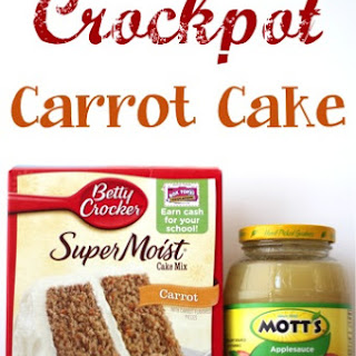 Crockpot Carrot Cake Recipe!