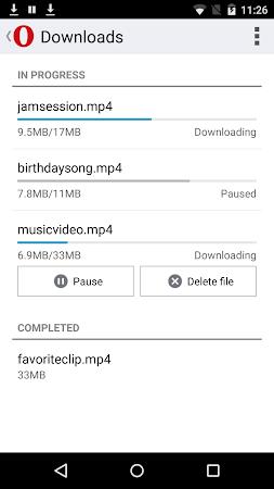 Opera Mini beta web browser 11.0.1912.94373 screenshot 6962