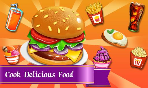 Burger Restaurant : Cooking Food Fever  captures d'écran 1