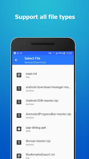 Messenger File Transfer 2.3 screenshots 2