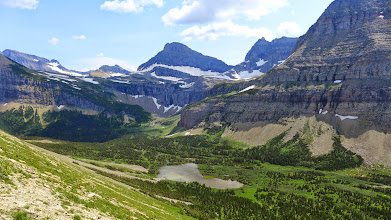 Photo: We hiked down past this lake - Photo taken from just below Stony Indian Pass